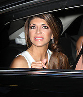 NEW YORK, NY-July 14: Teresa Giudice at New York Live to talk about the new season of the Real Housewiives of New Jersey in New York. NY July 14, 2016. Credit:RW/MediaPunch