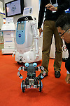 Robot Aided Education during a demonstration at the International Robot Exhibition in Tokyo on November 27, 2009. 200 robot companies and institutes exhibit their latest robot technologies during a four-day exhibition (photo Laurent Benchana/Nippon News).
