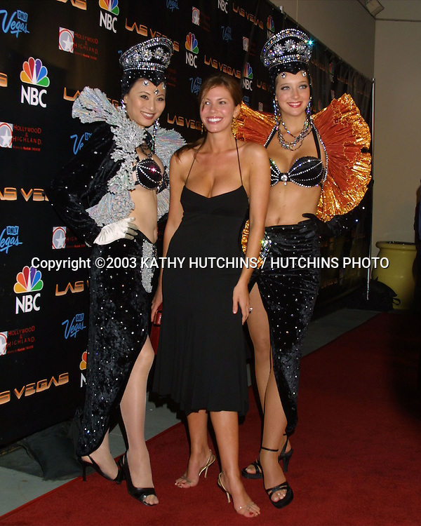 "©2003 KATHY HUTCHINS / HUTCHINS PHOTO.PARTY TO HONOR OPENING OF ""LAS VEGAS"" TV SHOW.HOLLYWOOD, CA.SEPTEMBER 16, 2003..NIKKI COX"