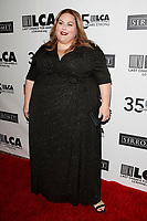 LOS ANGELES - OCT 19:  Chrissy Metz at the Last Chance for Animals' 35th Anniversary Gala at the Beverly Hilton Hotel on October 19, 2019 in Beverly Hills, CA