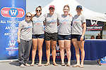 May 16, 2015; Gold River, CA, USA; I Four third place Loyola Marymount Lions during the WCC Rowing Championships at Lake Natoma.