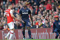 Michail Antonio during Arsenal vs West Ham United, Premier League Football at the Emirates Stadium on 7th March 2020