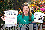 Rose O'Neill who is holding a pub quiz in aid of the special olympics on the 19th of November in the Fishery, Killorglin.