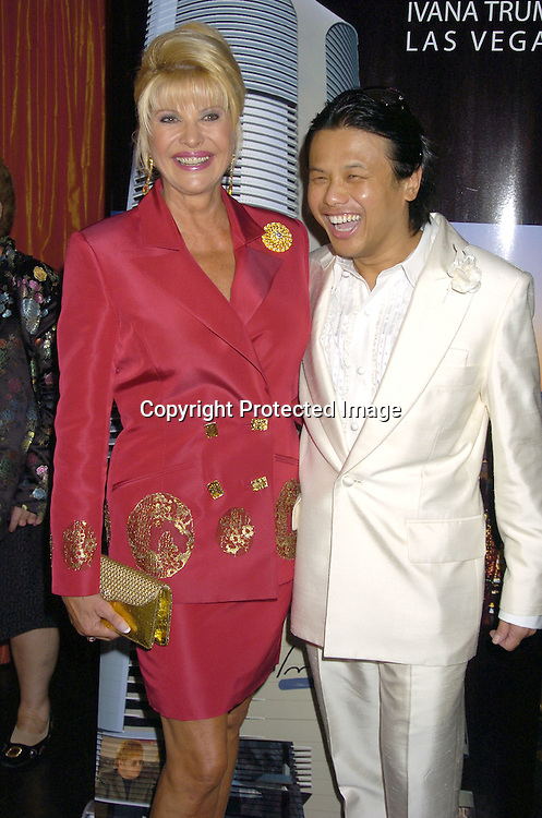 Ivana Trump and Zang Toi ..at a party at Club  Fizz  for Ivana Trumps new Condominium in Las Vegas called Ivana Las Vegas on August 17, 2005...Photo by Robin Platzer, Twin Images