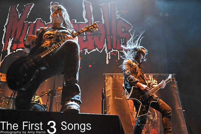 Wednesday 13 and Joey Jordison of Murderdolls perform at the Nashville Municipal Auditorium in Nashville, Tennessee on Oct 20, 2010.