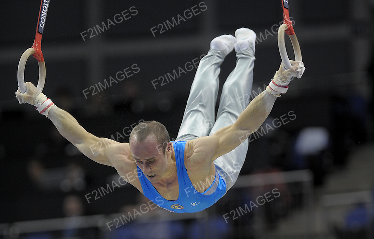 17.10.2009.World Gymnastics Championships at the O2 Arena London.Individual Apparatus Finals  .Photo Alan Edwards©