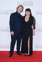www.acepixs.com<br /> <br /> February 9 2017, London<br /> <br /> Niall Leonard and E L James arriving at the UK Premiere of 'Fifty Shades Darker' at the Odeon Leicester Square on February 9, 2017 in London, United Kingdom. <br /> <br /> By Line: Famous/ACE Pictures<br /> <br /> <br /> ACE Pictures Inc<br /> Tel: 6467670430<br /> Email: info@acepixs.com<br /> www.acepixs.com