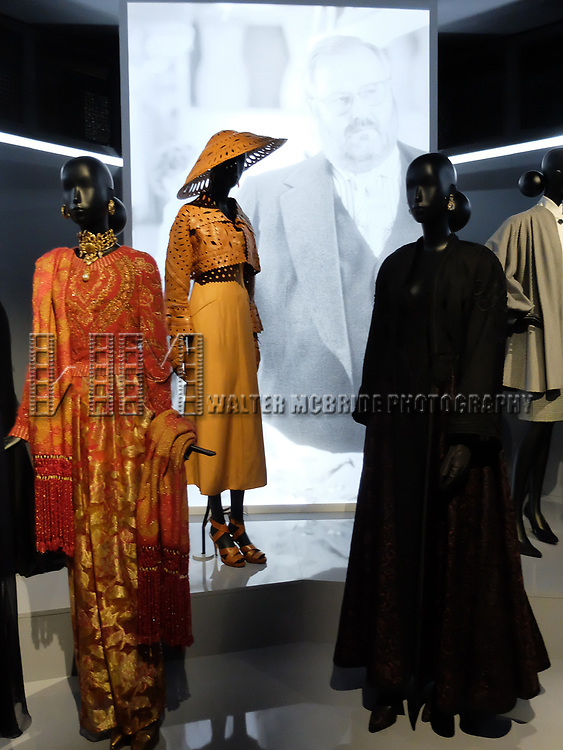 Gianfranco Ferré  - Dior exhibition celebrating the seventieth anniversary of the Christian Dior fashion house on July 15, 2017 in Paris, France. The exhibition at the Museum of Decorative Arts (Musee des Arts Decoratifs) is a retrospective presenting some 400 dresses, and runs through July 15, 2017 - January 7, 2018.