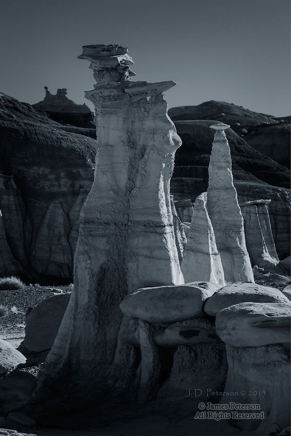 Hoodoos, Bisti Badlands, New Mexico