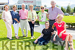 Bernie O'Sulllivan and Juliet Culloty were on hand to launch the Models in Recovery charity fashion show which will be held in the INEC on Thursday 1st September also at the launch were back row: Elsie Hegarty, Noreen collins, Pat Doolan, Kay spillane, Margaret Walsh-O'Donoghue and Cathal Walsh