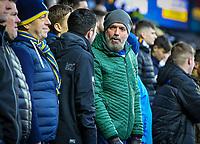 Leeds United fans wait for kick off<br /> <br /> Photographer Alex Dodd/CameraSport<br /> <br /> The EFL Sky Bet Championship - Leeds United v Queens Park Rangers - Saturday 8th December 2018 - Elland Road - Leeds<br /> <br /> World Copyright &copy; 2018 CameraSport. All rights reserved. 43 Linden Ave. Countesthorpe. Leicester. England. LE8 5PG - Tel: +44 (0) 116 277 4147 - admin@camerasport.com - www.camerasport.com