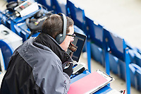 A general shot of the media before Colchester United vs Cheltenham Town, Sky Bet EFL League 2 Football at the Weston Homes Community Stadium on 6th January 2018
