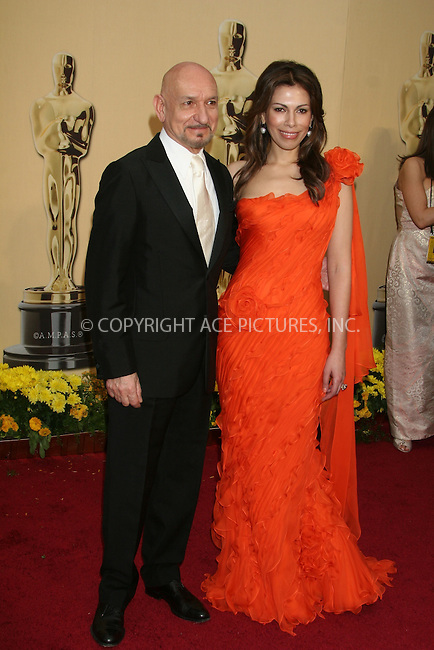 WWW.ACEPIXS.COM . . . . .  ....February 22, 2009. Hollywood, CA....Actor Sir Ben Kingsley and Daniela Lavender arrive at the 81st Annual Academy Awards held at the Kodak Theater on February 22, 2009 in Hollywood, CA.......Please byline: Z09- ACEPIXS.COM.... *** ***..Ace Pictures, Inc:  ..Philip Vaughan (646) 769 0430..e-mail: info@acepixs.com..web: http://www.acepixs.com