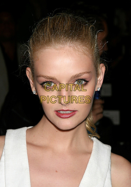 LYDIA HEARST .Front Row at the Rosa Cha Fashion show at Bryant Park, New York, NY, USA..September 10th, 2006.Ref: IW.headshot portrait.www.capitalpictures.com.sales@capitalpictures.com.©Ian Wilson/Capital Pictures