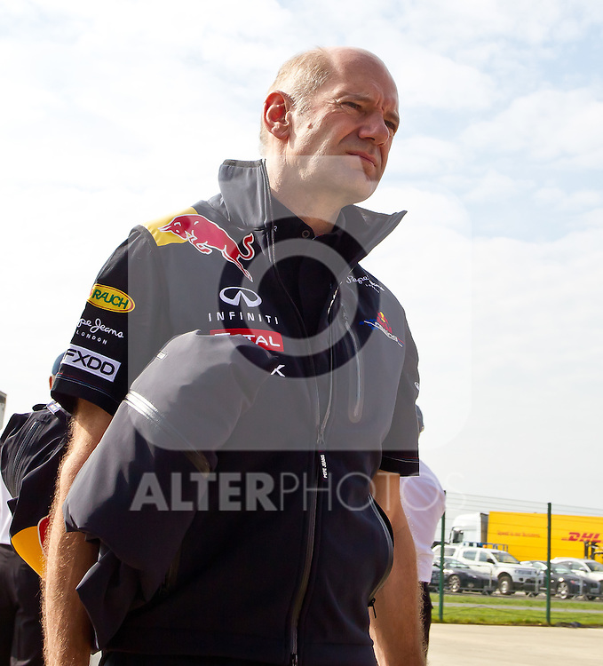 10.07.2011, Silverstone Circuit, Silverstone, GBR, F1, Großer Preis von Großbritannien, Silverstone, im Bild Adrian Newey, Chief Technical Officer, Red Bull Racing-Renault // during the during the Formula One Championships 2011 British Grand Prix held at the Silverstone Circuit, Northamptonshire, United Kingdom, 2011-07-10, EXPA Pictures © 2011, PhotoCredit: EXPA/ J. Feichter