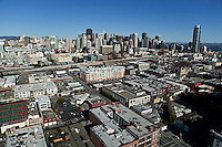 aerial photograph SOMA San Francisco, California