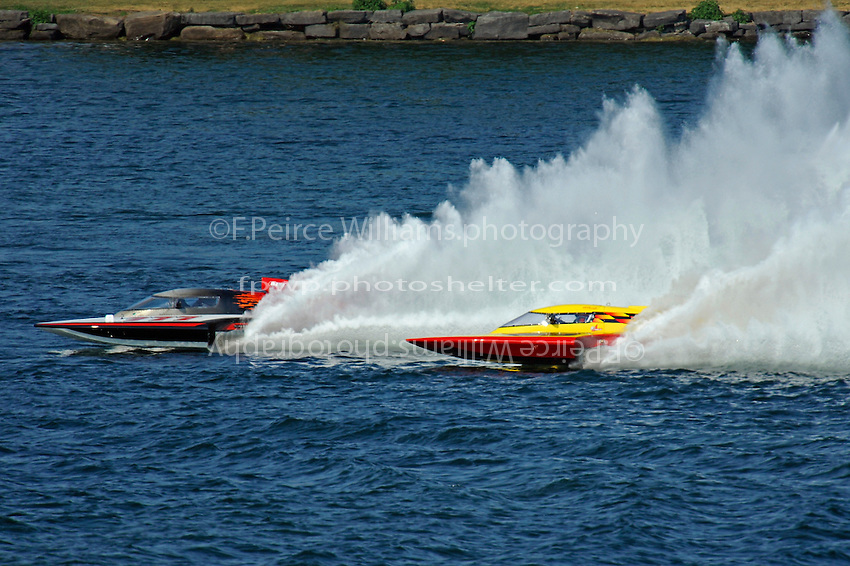 "Bert Henderson, GP-777 ""Steeler"" and Brandon Kennedy, GP-25 ""Shameless""  (Grand Prix Hydroplane(s)"