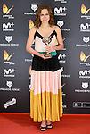 Aura Garrido win the award at Feroz Awards 2017 in Madrid, Spain. January 23, 2017. (ALTERPHOTOS/BorjaB.Hojas)