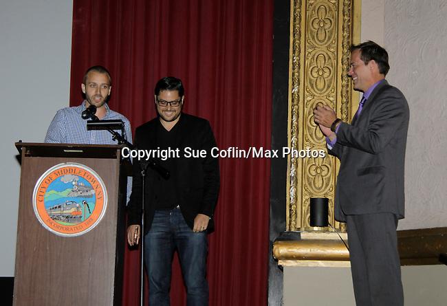 Robert Bogue - Gala Awards Night - Closing Night - Hoboken International Film Festival held June 5, 2014 at the Paramount Theatre, Middletown, New York. (Sue Coflin/Max Photos)