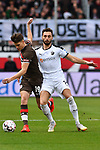 16.03.2019, BWT-Stadion am Hardtwald, Sandhausen, GER, 2. FBL, SV Sandhausen vs FC St. Pauli, <br /> <br /> DFL REGULATIONS PROHIBIT ANY USE OF PHOTOGRAPHS AS IMAGE SEQUENCES AND/OR QUASI-VIDEO.<br /> <br /> im Bild: Luca Zander (FC St. Pauli #19) gegen Fabian Schleusner (#11, SV Sandhausen)<br /> <br /> Foto © nordphoto / Fabisch