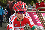 Alena Amialiusik of Belarus at the end of the Women Elite Road Race of the UCI World Championships 2019 running 149.4km from Bradford to Harrogate, England. 28th September 2019.<br /> Picture: Seamus Yore | Cyclefile<br /> <br /> All photos usage must carry mandatory copyright credit (© Cyclefile | Seamus Yore)