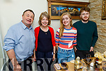Maurice, Eileen, Niamh and Eamonn Lawlor enjoying the evening in Bella Bia on Saturday.