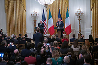 Trump and Mattarella of Italy Joint Press Conference