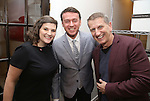 Rachel Routh, Andrew Lippa and Tom Kirdahy during The DGF's 14th Biannual Madge Evans & Sidney Kingsley Awards at the Dramatists Guild Fund headquarters on April 4, 2016 in New York City.