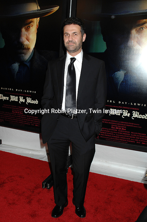 "Khaled Hosseini, author of ""The Kite Runner"".arriving at the New York Premiere of ""There Will Be Blood"".on December 10, 2007 at The Ziegfeld Theatre in New York. Paul Thomas Anderson directed the movie which .stars Daniel Day-Lewis. .Robin Platzer, Twin Images"