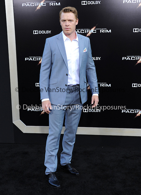 Diego Klattenhoff at The Warner Bros. Pictures L.A. Premiere of Pacific Premiere held at The Dolby Theater in Hollywood, California on July 09,2013                                                                   Copyright 2013 Hollywood Press Agency