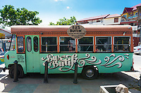 Bus butik (boutique) clothing shop in Langkawi, Malaysia