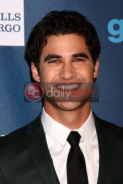 Darren Criss<br /> at the 24th Annual GLAAD Media Awards, JW Marriott, Los Angeles, CA 04-20-13<br /> David Edwards/DailyCeleb.Com 818-249-4998