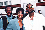 Fugees 1997 American Music Awards.Pras Michel,Lauryn Hill and Wyclef Jean