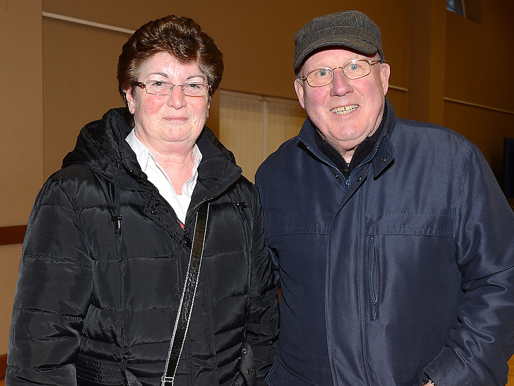 Richard and Mary O'Rourke pictured at the Bric-a-Brac sale in St Peter's church hall. Photo: Colin Bell/pressphotos.ie