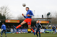 Murray Wallace of Millwall warms up ahead of  AFC Wimbledon vs Millwall, Emirates FA Cup Football at the Cherry Red Records Stadium on 16th February 2019