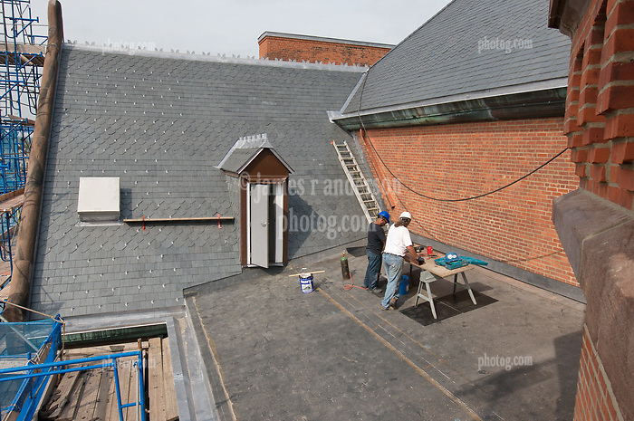 Bridgeport Courthouse GA 2 Renovations. Replace Roof and Masonry Repairs CT Dept of Public Works Project # BI-JD-305. Forth Progress Photography Shoot: 21 September 2011