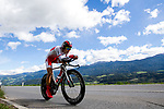 Shoi Matsuda (JPN) in action during the Men's Under-23 Individual Time Trial of the 2018 UCI Road World Championships running 20km around Innsbruck, Innsbruck-Tirol, Austria 2018. 24th September 2018.<br /> Picture: Innsbruck-Tirol 2018/Jan Hetfleisch | Cyclefile<br /> <br /> <br /> All photos usage must carry mandatory copyright credit (&copy; Cyclefile | Innsbruck-Tirol 2018/Jan Hetfleisch)