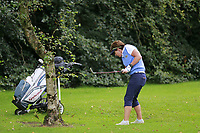 Julieanna Morris (Warrenpoint) during the final  of the Ulster Mixed Foursomes at Killymoon Golf Club, Belfast, Northern Ireland. 26/08/2017<br /> Picture: Fran Caffrey / Golffile<br /> <br /> All photo usage must carry mandatory copyright credit (&copy; Golffile   Fran Caffrey)