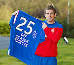 Steven Davis in season tickets ptromotion