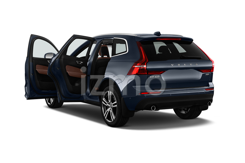 Car images close up view of a 2018 Volvo XC60 T5 Momentum 4WD 5 Door SUV doors