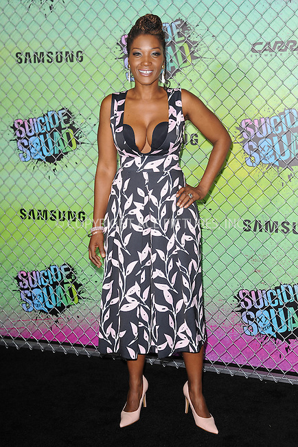 www.acepixs.com<br /> August 1, 2016  New York City<br /> <br /> Yolonda Ross attending the world premiere of Warner Bros. Pictures and Atlas Entertainment&rsquo;s 'Suicide Squad' at the Beacon Theatre on August 1, 2016 in New York City.<br /> <br /> <br /> Credit: Kristin Callahan/ACE Pictures<br /> <br /> <br /> Tel: 646 769 0430<br /> Email: info@acepixs.com