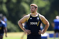 Dave Attwood of Bath Rugby. Bath Rugby pre-season training on July 2, 2018 at Farleigh House in Bath, England. Photo by: Patrick Khachfe / Onside Images