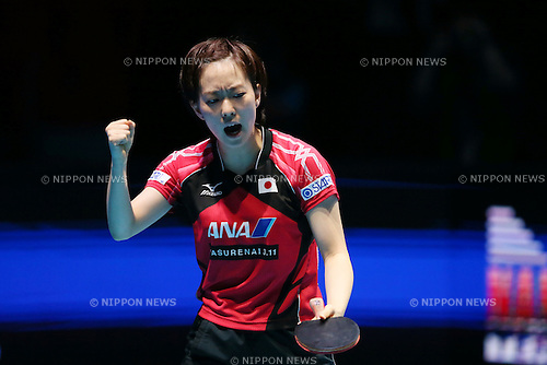 Kasumi Ishikawa (JPN), <br /> DECEMBER 13, 2014 - Table Tennis : <br /> GAC Group 2014 ITTF World Tour Grand Finals <br /> Women's Singles <br /> at Indoor Stadium Huamark, Bangkok, Thailand <br /> (Photo by YUTAKA/AFLO SPORT) [1040]