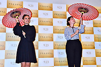 Natalie Portman und Rebecca Zlotowski bei der Premiere des Kinofilms 'Planetarium' im Shinjuku Wald 9 Cinema. Tokio, 20.07.2017