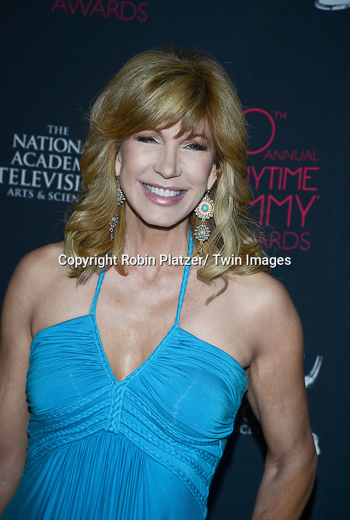 Leeza Gibbons attends the 40th Annual Daytime Creative Arts Emmy Awards on June 14, 2013 at the Westin Bonaventure Hotel in Los Angeles, California.