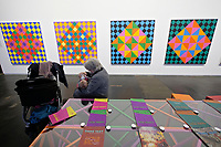 Kassel, Germany. Opening days of documenta14.<br /> Neue Neue Galerie.<br /> Rasheed Armeen: The Reading Room, 2016-17