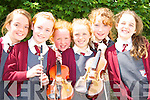 Playing music at the official opening of the new refurbishment in Fossa NS on Friday was Raymona O'Connell, Aisling Enright, Emma Griffin, Melissa Buckley, Tara McCarthy, Geraldine O'Shea   Copyright Kerry's Eye 2008