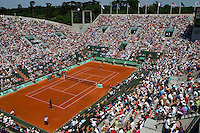 Ambience ..Tennis - Grand Slam - French Open- Roland Garros - Paris - Mon May 28th 2012...© AMN Images, 30, Cleveland Street, London, W1T 4JD.Tel - +44 20 7907 6387.mfrey@advantagemedianet.com.www.amnimages.photoshelter.com.www.advantagemedianet.com.www.tennishead.net
