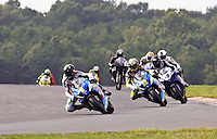 Mat Mladin practices for the final event of his American Superbike career , the AMA Pro Superbike Championship weekend at New Jersey Motorsports Park, in Millville, NJ on Saturday, Aeptember 5, 2009.  (Photo by Brian Cleary/www.bcpix.com)