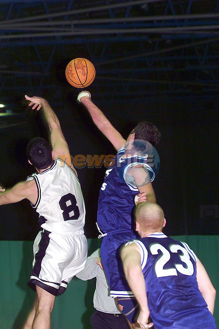 No 44 Eoin McEvoy going for the Hoop against Malahide in Gormanstown College..Picture Fran Caffrey Newsfile.